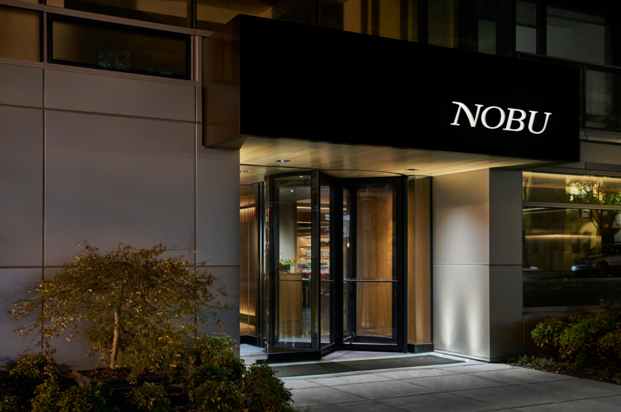 The iconic Japanese restaurant loved by Hollywood celebs and the entire Kardashian clan has made its way to Washington. Nobu, located on the ground floor of the new 2501 M Street Residences opened its doors to the public for dinner service on September 12, serving a Japanese-Peruvian fusion menu. (Image: Amanda Andrade-Rhoades/ DC Refined)