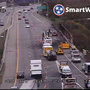 Cargo fire shuts down all lanes of I-40 East near I-440