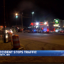 Two-vehicle accident in Moundsville