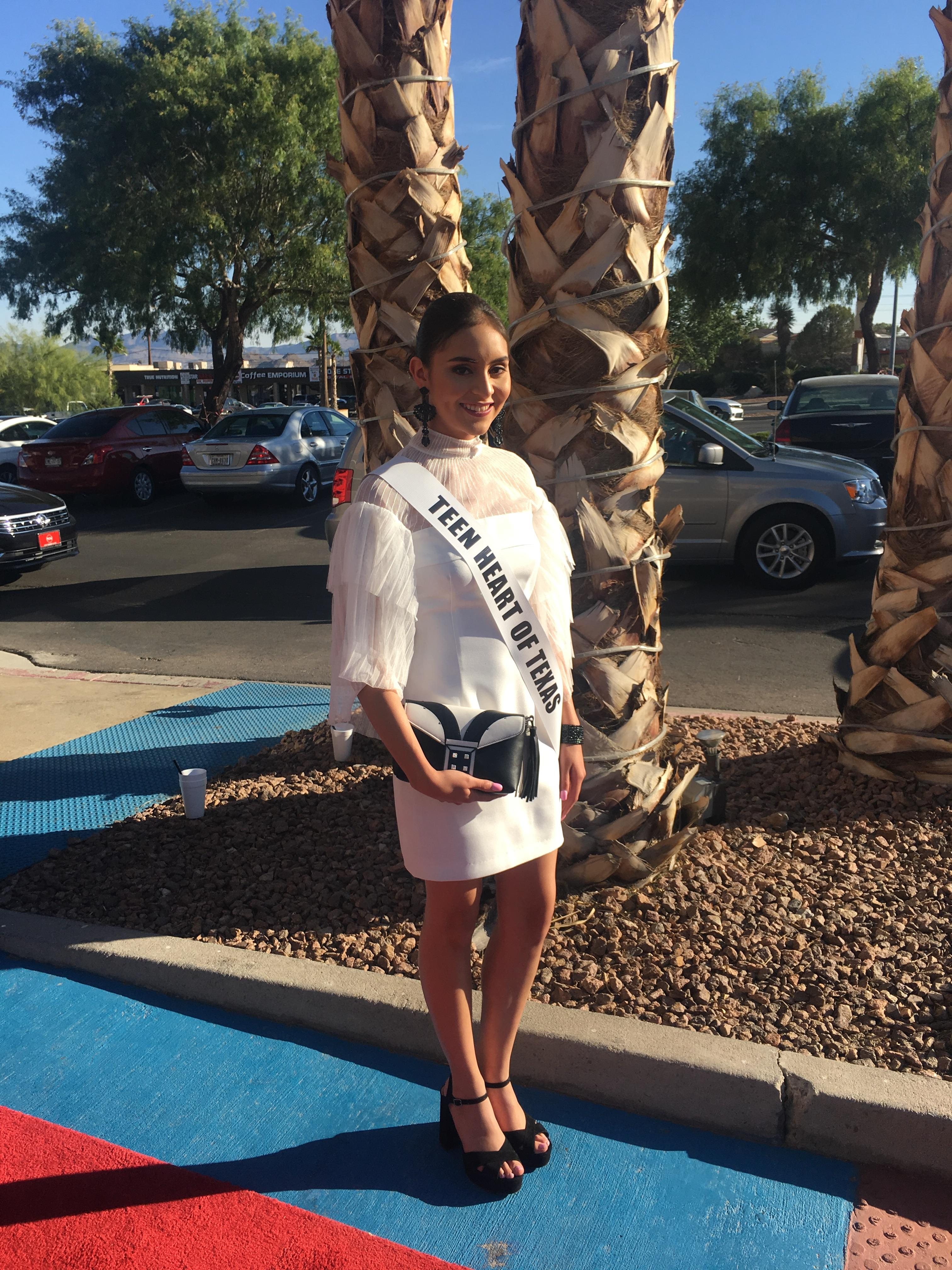 Teen Heart of Texas arrives to Capital Grille in west El Paso.