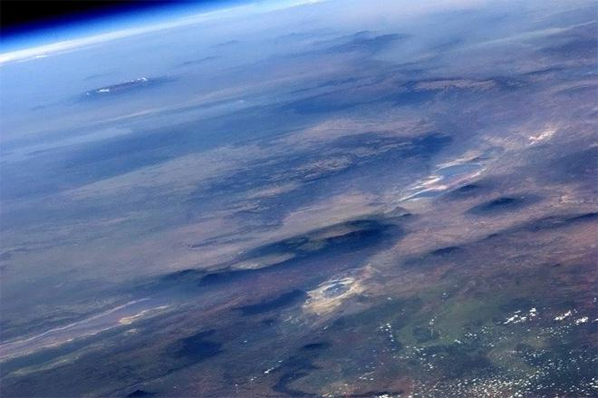Africa blurs my eyes to the endless horizon. (Photo & Caption: Col. Chris Hadfield, NASA)