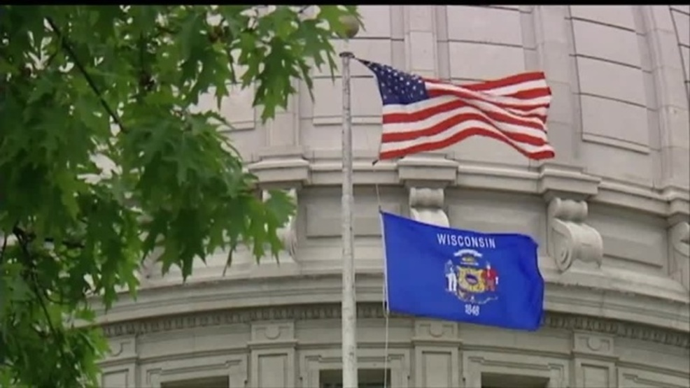 Wisconsin capitol flags.jpg