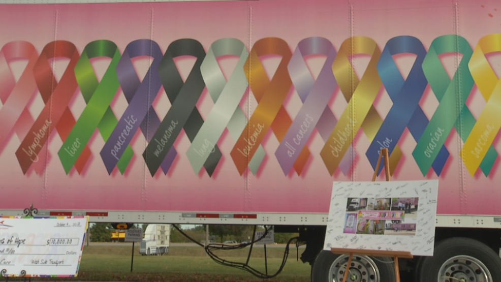 West Side's Convoy for a Cure donates $10,000 to local