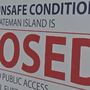 "Officials close Bateman Island ""indefinitely"" for public safety"