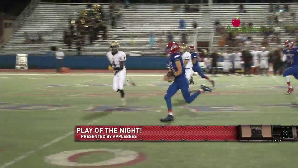 Play of the night: Bel Air QB Knutson's big run