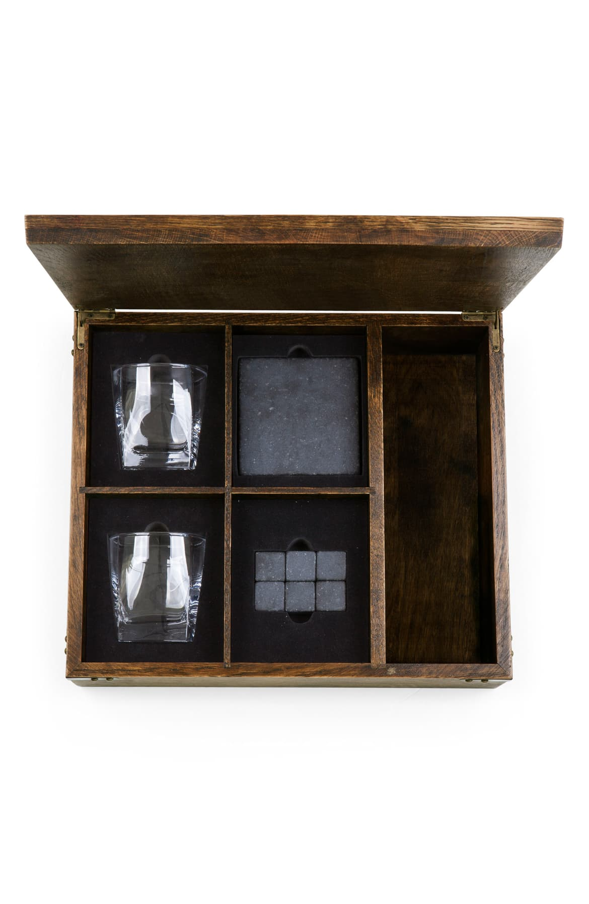 <p>Perfect for the man cave, we love this 11-Piece Whiskey Box Gift Set for $155.95. This complete whiskey set makes a handsome addition to any home bar and includes all the essentials for enjoying your favorite whiskey in style. (Image: Nordstrom){&nbsp;}</p><p></p>