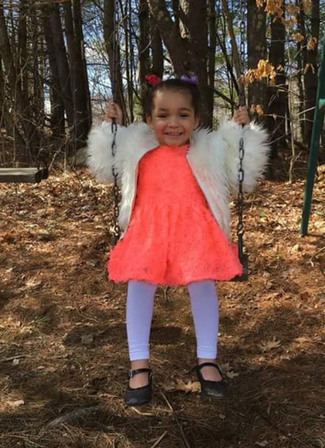 The Worcester Police Department said they are searching for 3-year-old Ella Abbott of Worcester. (Police photo)