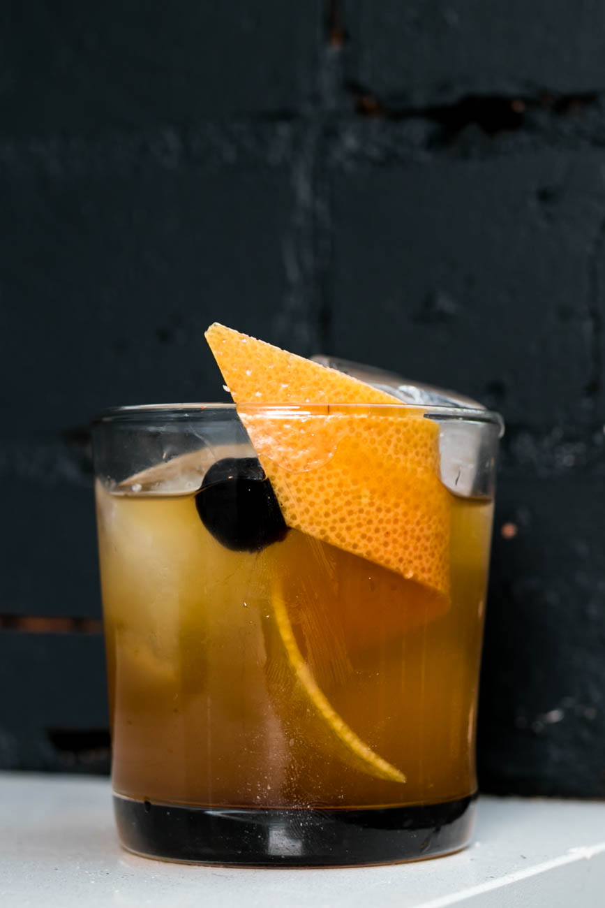 Coppin's Old Fashioned: Old Forester Bourbon Woodford Reserve, barley syrup, and trinity bitters / Image: Amy Elisabeth Spasoff // Published: 4.23.18