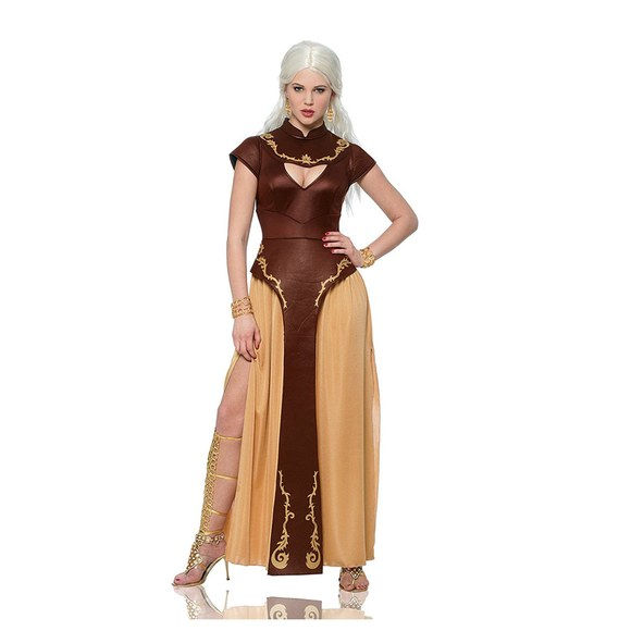Daenerys Targaryen. The Mother of Dragons is fierce. Show your strength by dressing as one of your favorite Game of Thrones characters. Bring some dragons along for fire-y entertainment.  (Image: Amazon.com)
