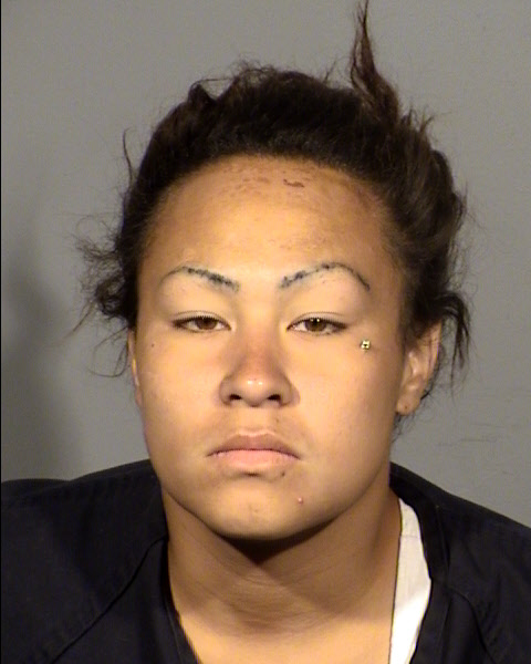 26-year-old Oriana Leausa and her boyfriend set up a meeting with a man wanting to sell a BMW.  7/07/17 (LVMPD / KSNV)