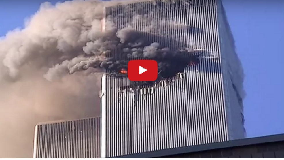 New 9/11 footage WARNING: Graphic