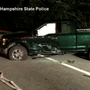 Moose causes four-vehicle crash in New Hampshire