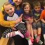 'Crazy socks' mark Down Syndrome Awareness Day