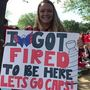 College student says she got fired to be at Capitals' Stanley Cup parade