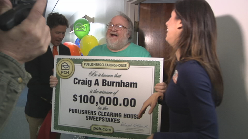 Dayton man surprised with $100k check from Publishers
