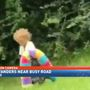 Caught on Camera: Toddler wandering along busy road in Prichard