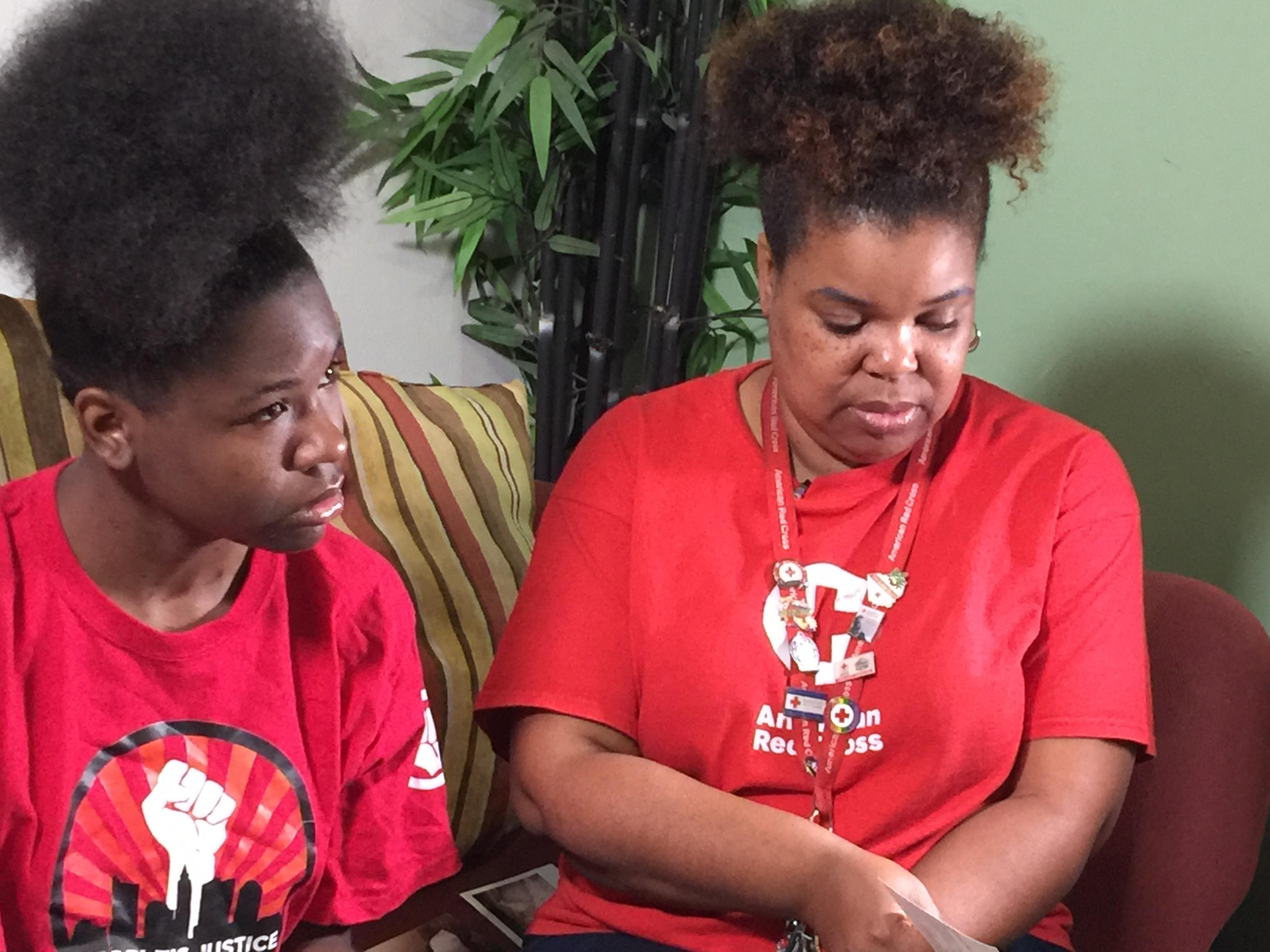 Marshall's mother was 1,000 miles away working as a Red Cross Volunteer helping victims of Hurricane Harvey when she heard of his death. (WSYX/WTTE)