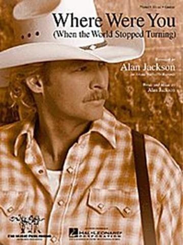 Another song written the moments following 9/11, Alan Jackson's song wsa first performed at the CMA awards in November, 2001http://www.youtube.com/watch?v=fvj6zdWLUuk
