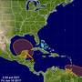 Disturbance in the Caribbean being monitored over the weekend