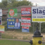 Former candidates may face daily fine if signs aren't taken down