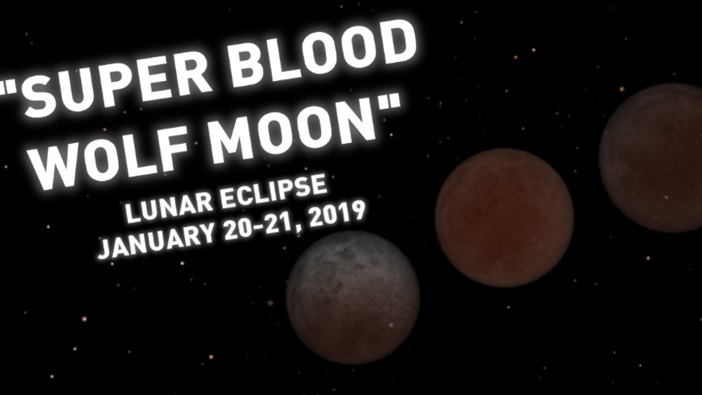 The Super Blood Wolf Moon Is Coming What Is That Wgxa