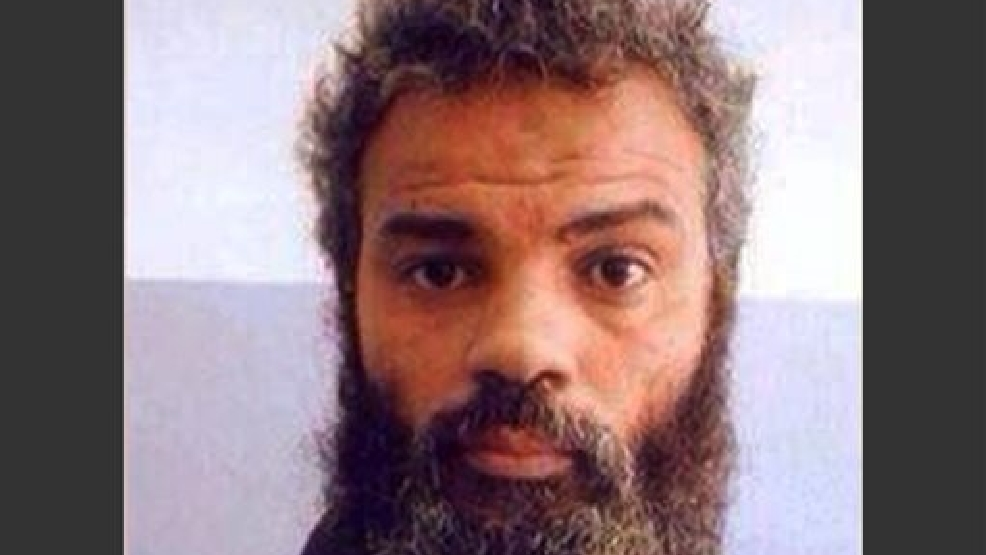 FILE - This undated file image obtained from Facebook shows Ahmed Abu Khattala, an alleged leader of the deadly 2012 attacks on Americans in Benghazi, Libya, who was captured by U.S. special forces on Sunday, June 15, 2014, on the outskirts of Benghazi. A spokesman for the U.S. Attorney's office said Saturday, June 28, 2014 that Khattala is in federal law enforcement custody. There is heightened security at Washington's federal courthouse. (AP Photo, File)