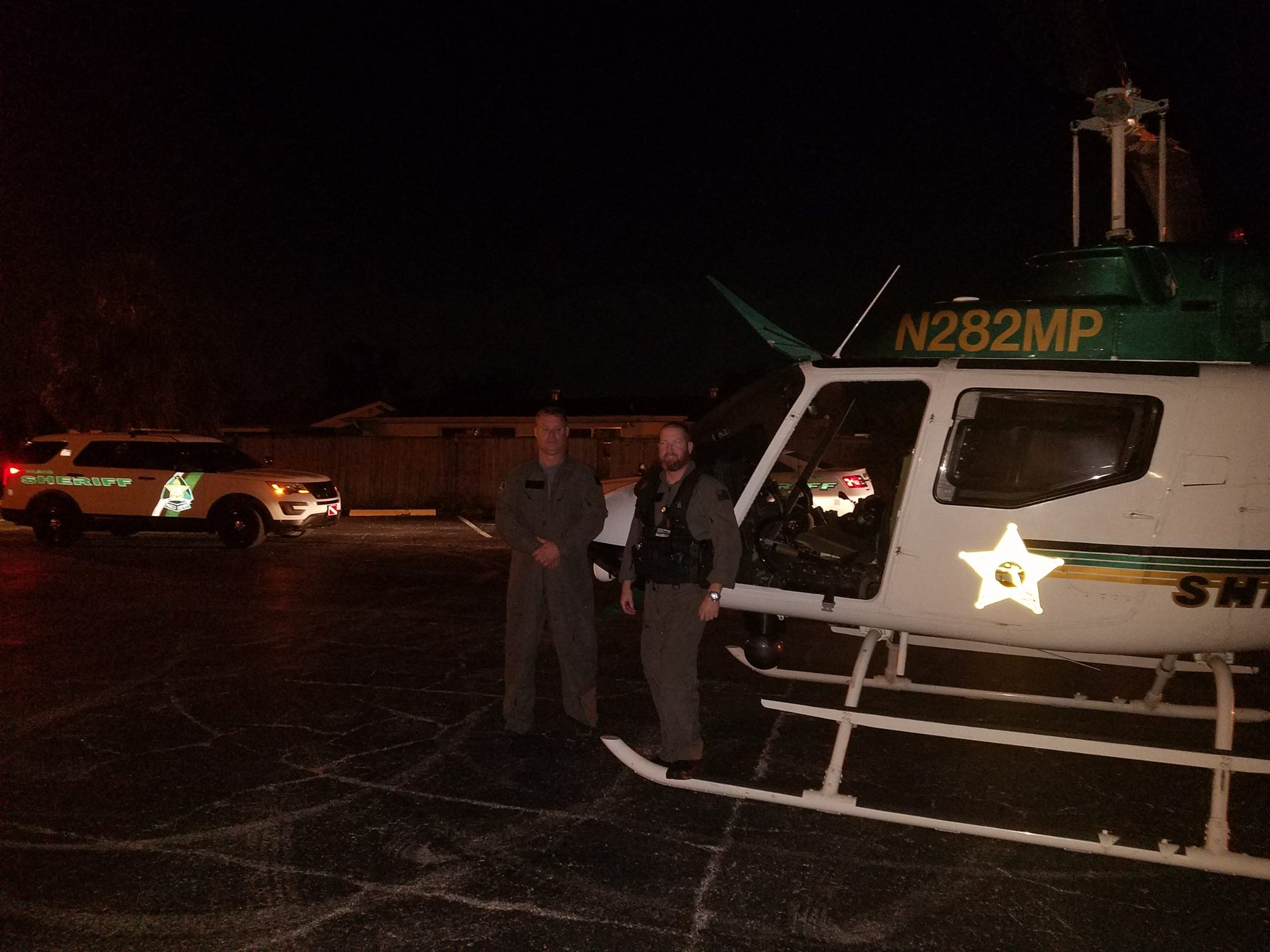Man accused of blinding a pilot with a laser pointer. (Pasco Sheriff's Office)