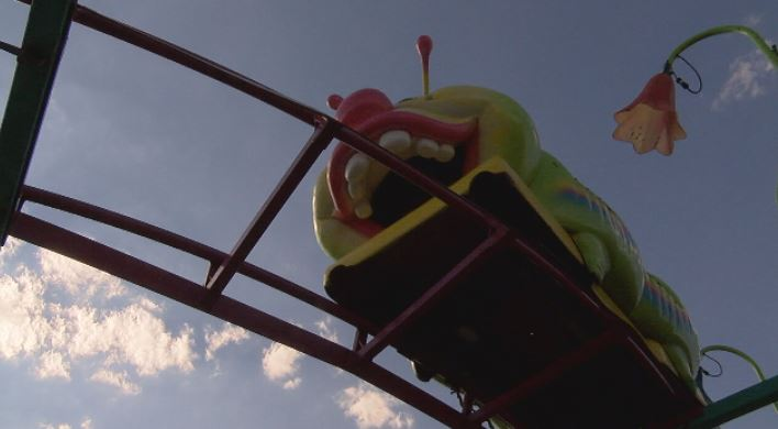 Roller coasters are a popular ride at the fair.  (KVII, Niccole Caan)