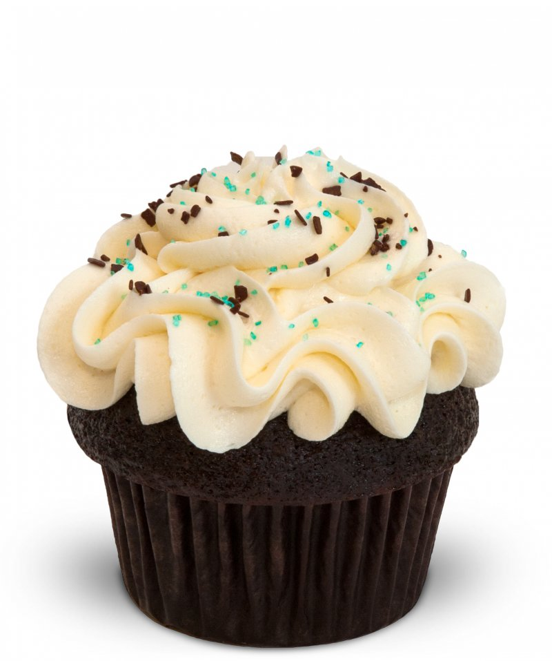 Chocolate Vanilla Cupcake{ }(Photo: Trophy Cupcakes)