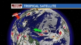 Two tropical waves in the Atlantic