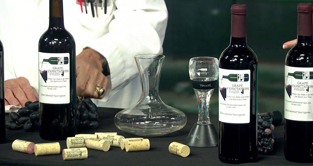 Grape Expectations Nevada School of Winemaking teaches you how to make your own wine! (KSNV)