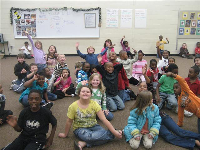 Lonnie B. Nelson Elementary Second Graders