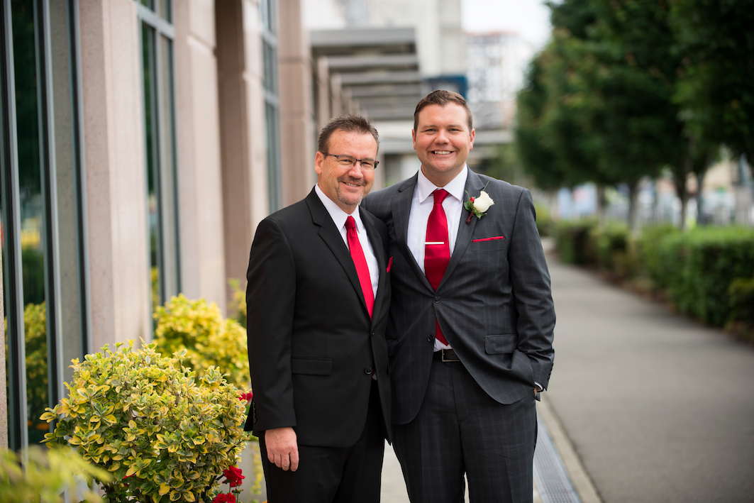 This beautiful waterfront wedding is definitely one for books! Karen and David got married on Sunday May 29, 2016 at Bell Harbor. The bride and groom both got ready for the wedding on Mercer Island and then came into downtown Seattle for their photos, wedding, and reception.  Do you or somebody you know have a wedding you think deserves the spotlight? We LOVE (pun intended) documenting love stories, so email us at hello@seattlerefined.com to submit some wedding or engagement shots! (Image: Rick Takagi Photography /http://ricktakagi.zenfolio.com/)