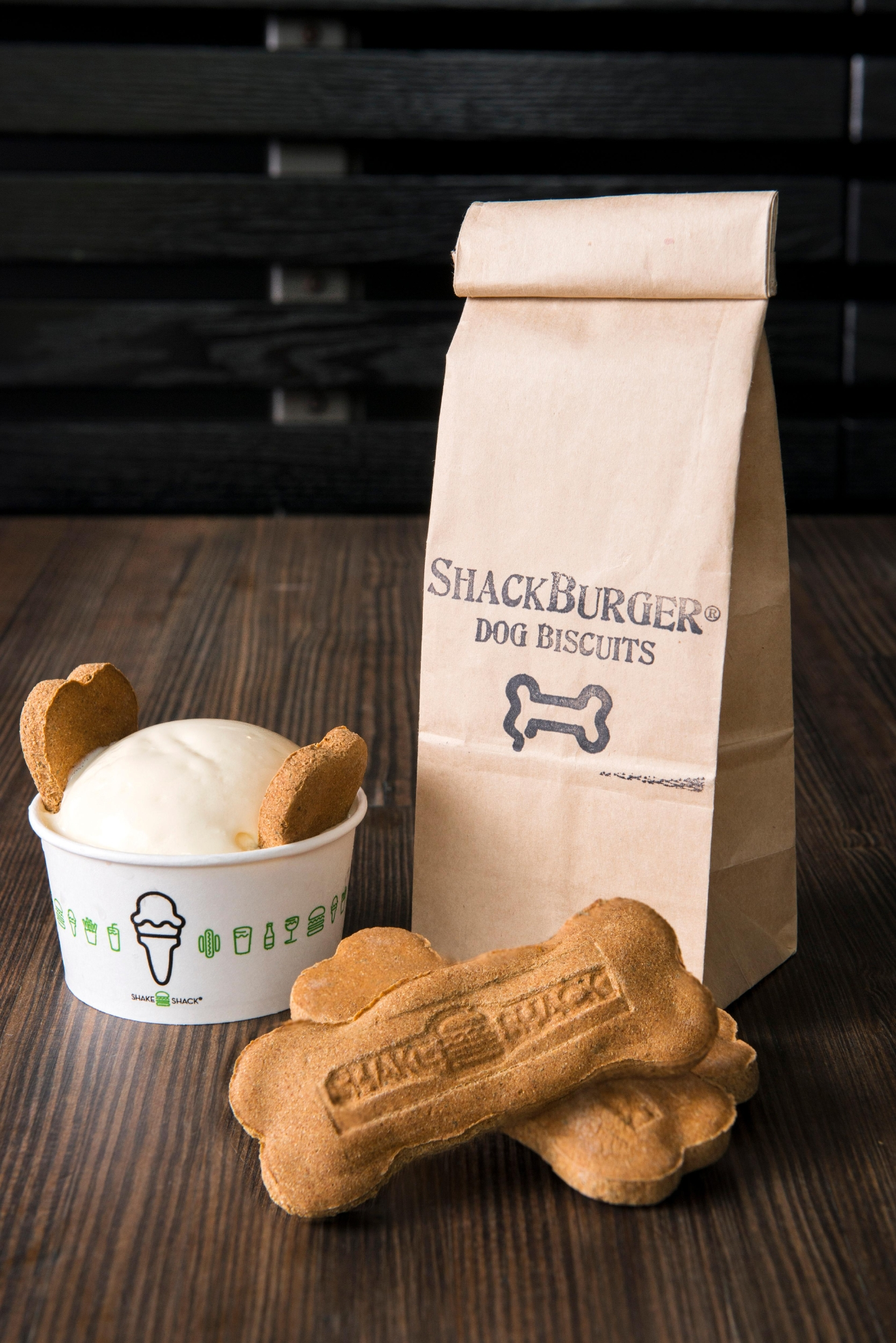 Shake Shack (Multiple locations in the DMV): Let Fido lick away at a Pooch-ini or Bag O' Bones while you enjoy a delicious burger and shake. (Photo: Shake Shack)