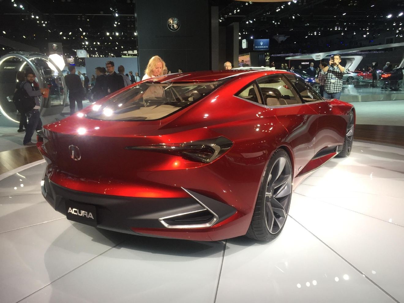 Acura Precision Concept Gives A Hint Of The Future Design Direction For  Acura. The 2016