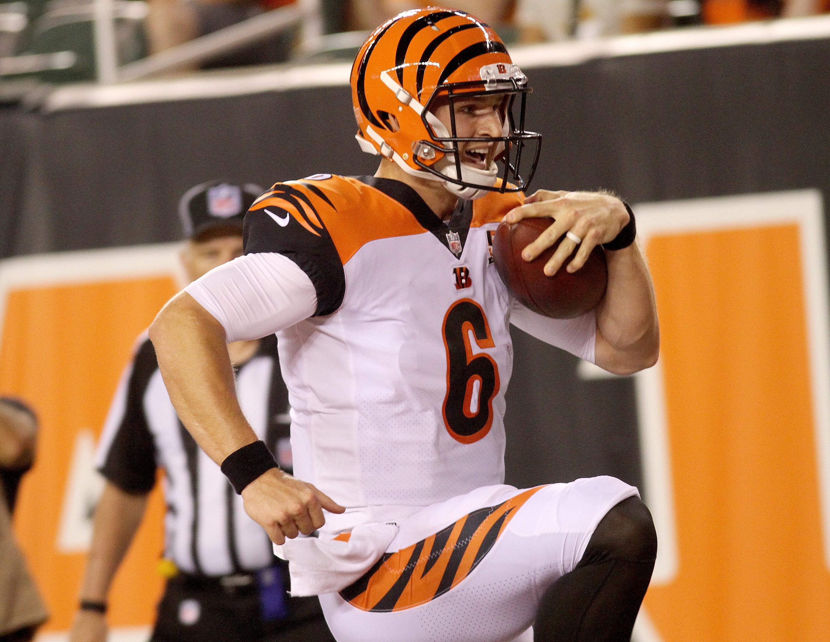 The Bengals placed quarterback Jeff Driskel on the injured reserve list on Sunday, but because they carried him to the 53-man roster he is eligible to return after eight weeks (WKRC/Tony Tribble).