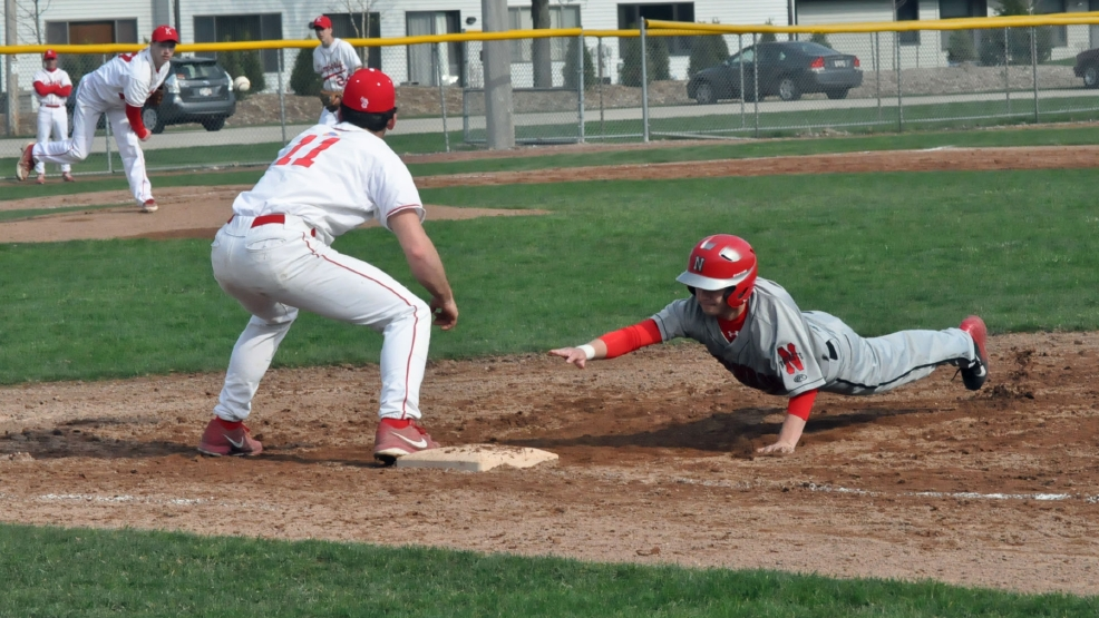 Kimberly defeated Neenah, 10-0, in five innings Thursday. (Doug Ritchay/WLUK)