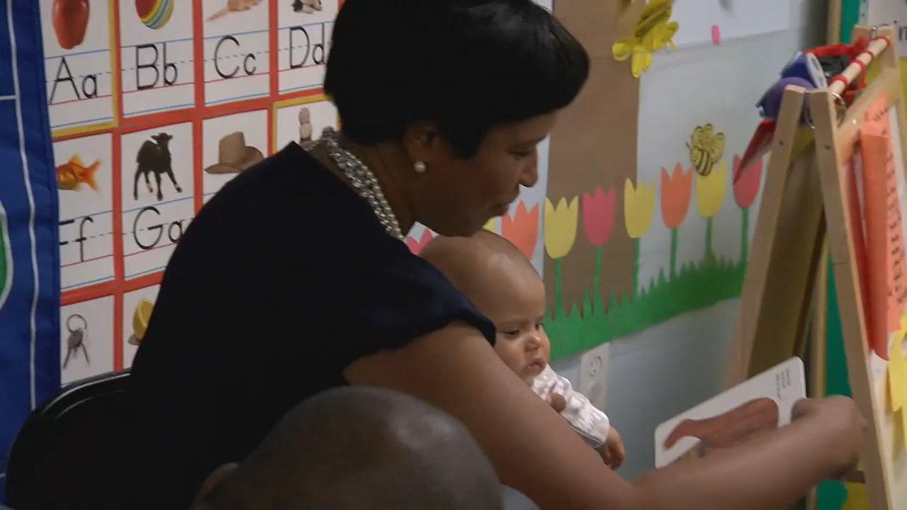 Mayor Bowser promotes initiatives to address DC child care shortage (ABC7)