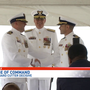 Coast Guard Cutter Decisive under new command at NAS Pensacola
