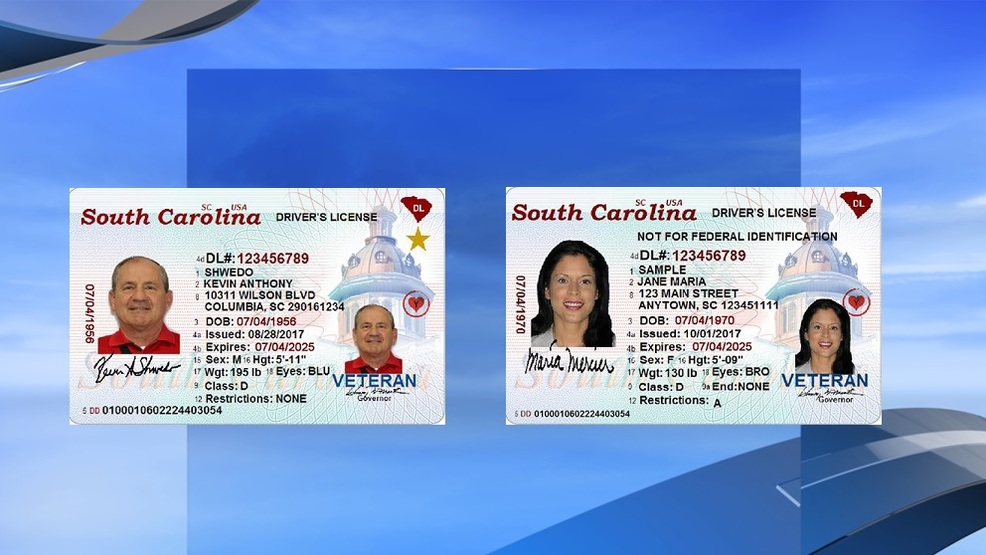 New Transition Wpde Real Release South Id Officials For Prepare Licenses Carolina Of Photos