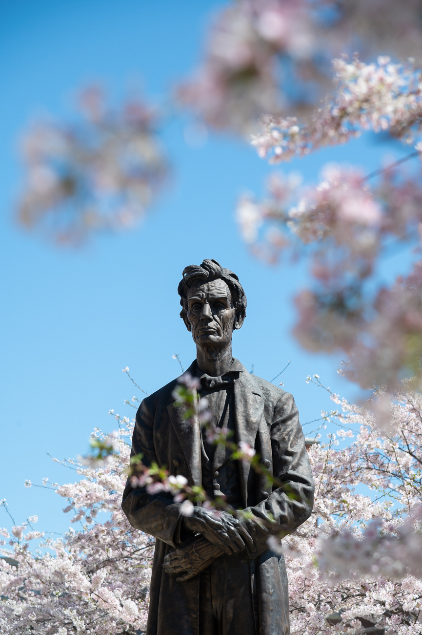 "FACT #17: It's unclear what the statue's actual title is / DETAILS: While most people refer to it as the ""Lytle Park Abe Lincoln"" or ""Barnard's Lincoln,"" it's also been referred to as ""Lincoln—The Candidate"" and ""Lincoln—The Man"" throughout its over-100-year history. / Image: Phil Armstrong // Published: 4.2.20"