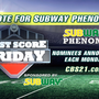 Vote now for this week's Subway® Phenom