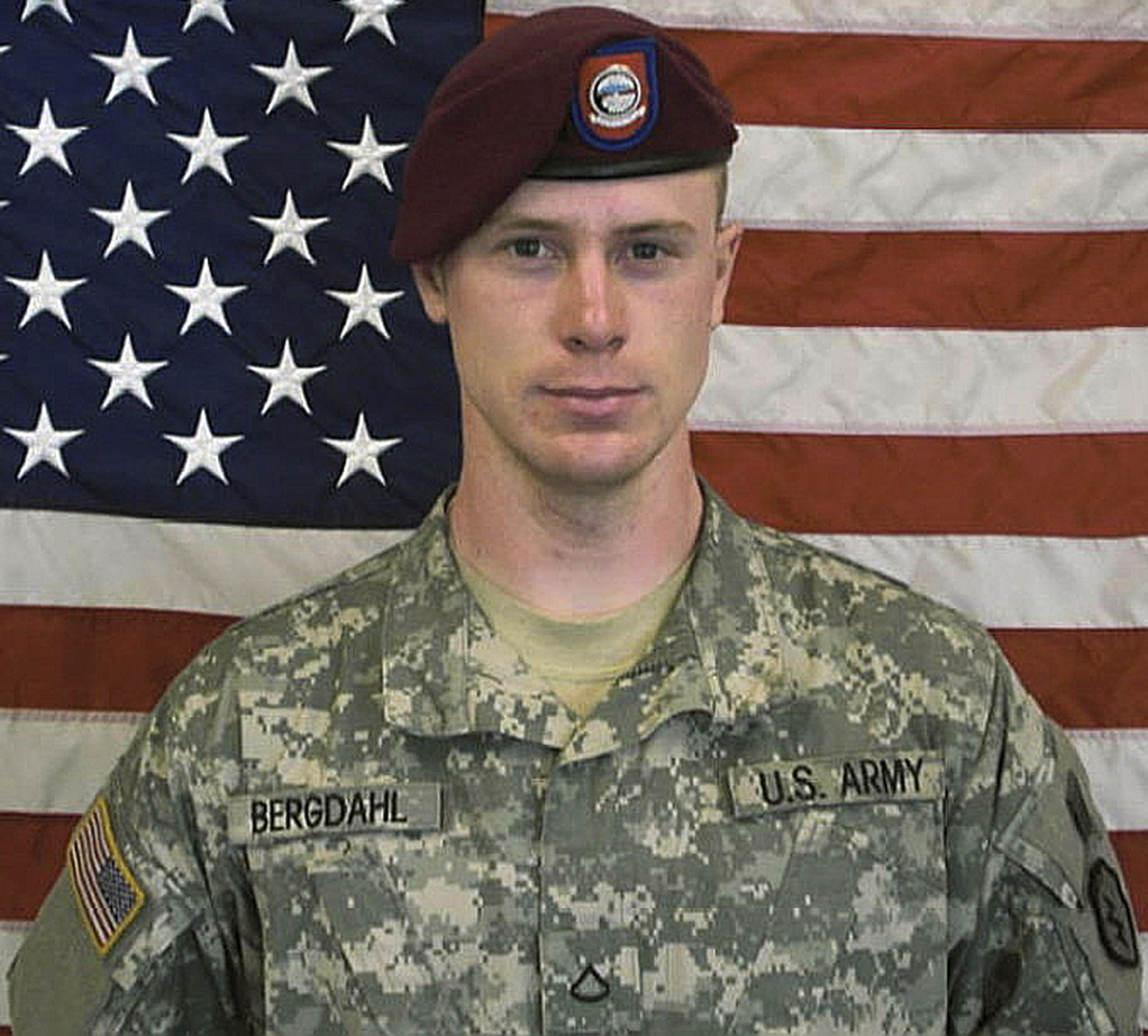 This undated file image provided by the U.S. Army shows Sgt. Bowe Bergdahl. The attorney for Bergdahl, who was released in exchange for five Taliban detainees from Guantanamo Bay, says the soldier's case has been referred for trial by a general court-martial.  (AP Photo/U.S. Army, File)