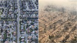 Before-and-after photos show wine country wildfire devastation