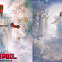 New Deadpool poster resembles LDS-commissioned painting of Jesus Christ