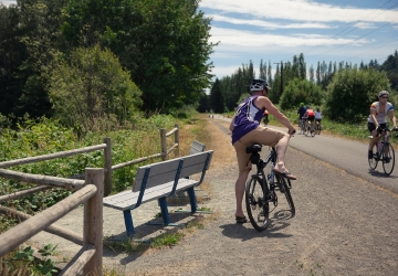 Cycling the snohomish county centennial trail seattle refined view gallery publicscrutiny Choice Image