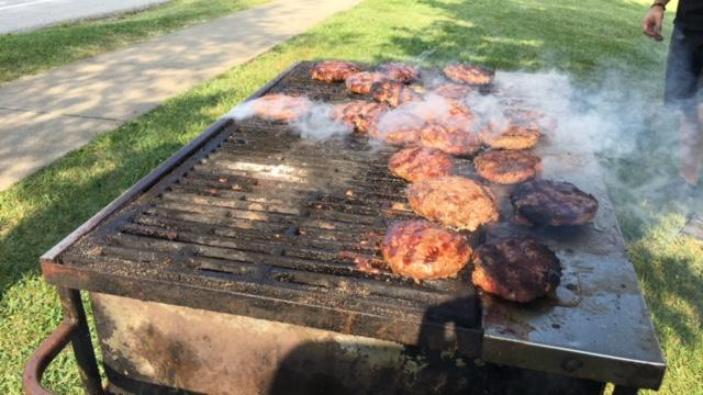 "Erica Collura was live Thursday, August 4, in Covington, Ky. for ""Grillin' For Tim"". (WKRC)"