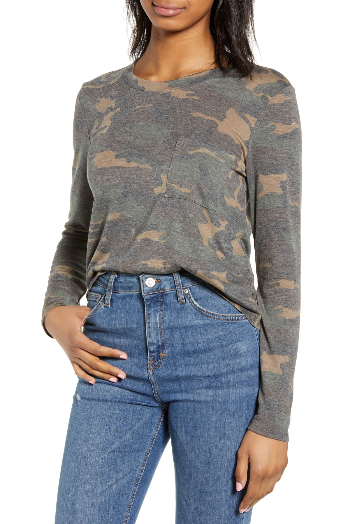 They can't pinch you if they can't see you (hehe){ } Camo T for the win!{ }$29 (Image: Nordstrom){ }