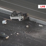 Rollover crash causing major delays on U.S. 95 Southbound