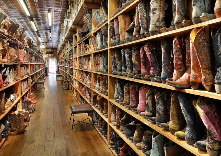 Some of these boots cost more than my condo. (Image: Allen's Boots)